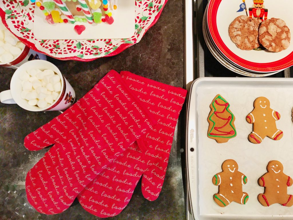 Foodie Oven Mitts (Cotton With Printed Silicone)