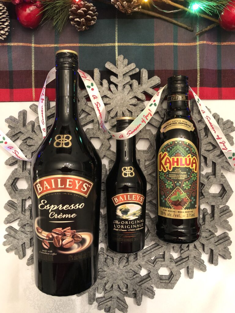 Bailey's and Kahlua Gifts