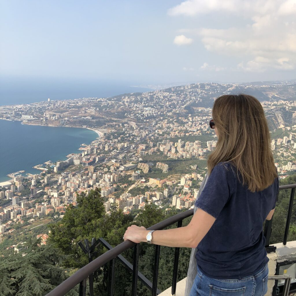 Overlooking Jounieh Bay, Mount Lebanon