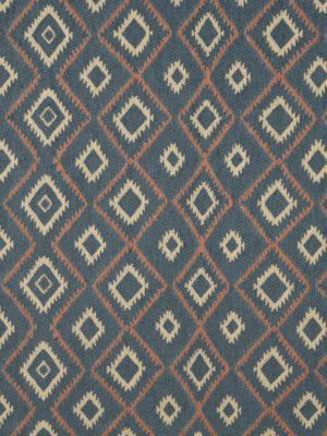 CF-9749 Southwest Upholstery Fabric Baja Blue