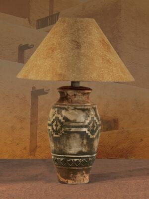 Southwest Table Lamp H-6188