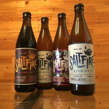 SaltFire Brewing Grand Opening - Bottles