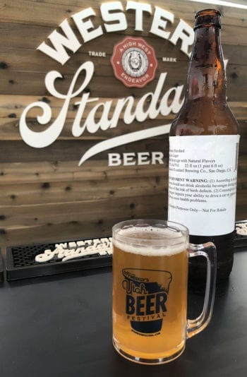 Western Standard's Saloon Lager is a 5.2% ABV lager aged for a month in High West Distillery whiskey barrels.