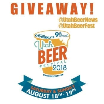 Visit @UtahBeerNews on Instagram to learn how you could win a pair of Early Beer Drinker tickets to the 2018 Utah Beer Festival.