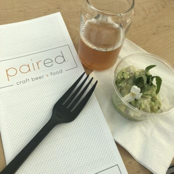 GABF 2018 - PAIRED Rockfish Ceviche Tropical Sour - Utah Beer News