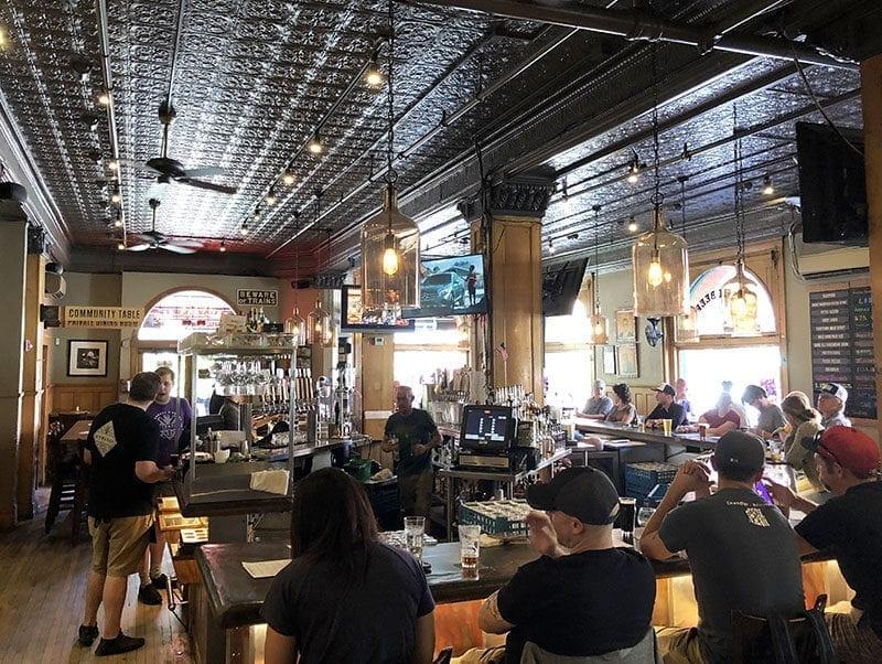 Wynkoop Brewing Co., Colorado's oldest brewpub, opened in 1988.