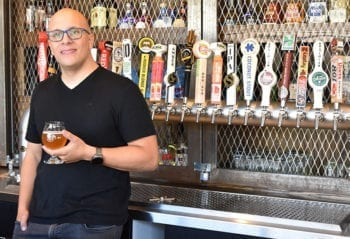 Eric Meyer, manager of Purgatory bar in Salt Lake City, is passionate about craft beer and he enjoys sharing that passion with others through craft beer education.