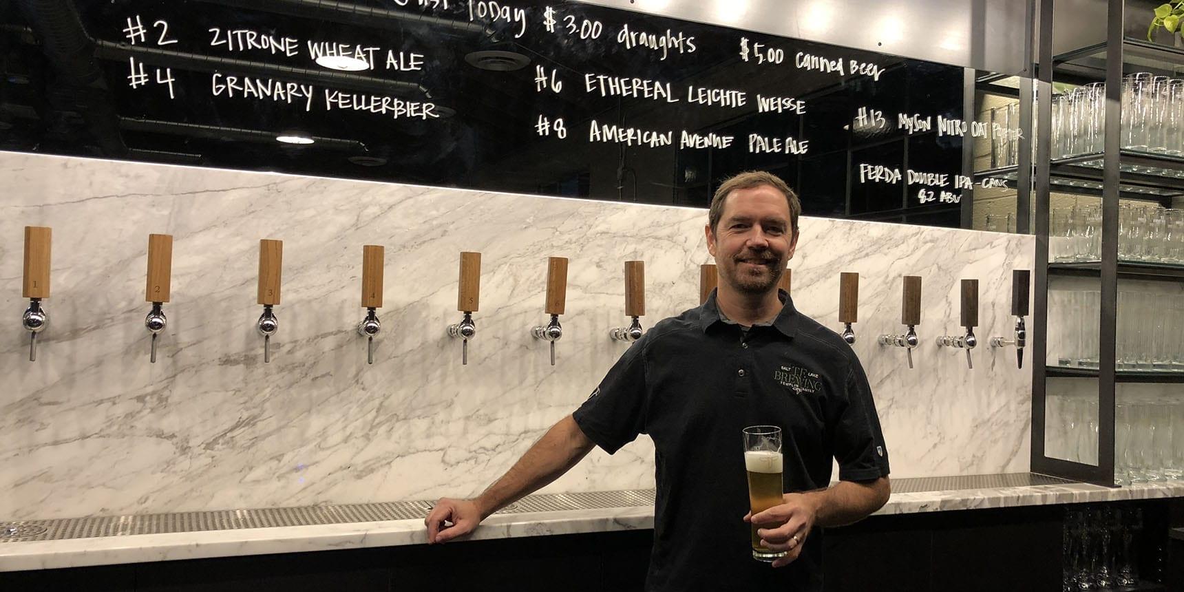 T.F. Brewing - Kevin Templin - Featured - Utah Beer News