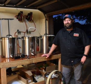 Ryan Van Liere — The Flying Bassoonist — and his homebrew setup.