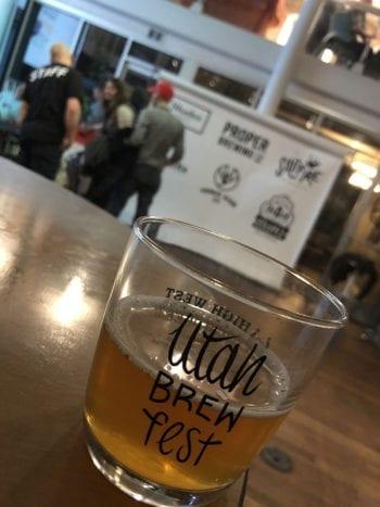 Utah Brew Fest - Glass - Utah Beer News