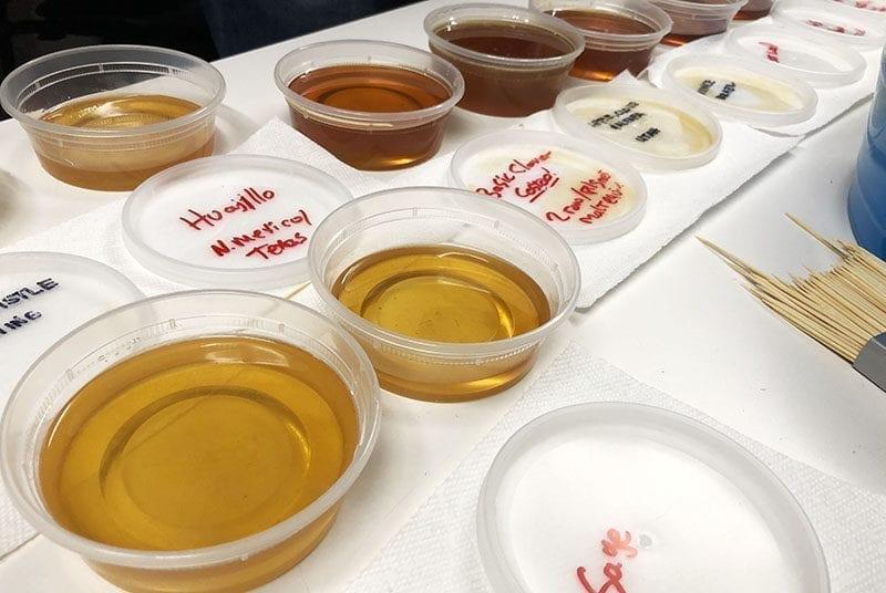 Utah Brew Fest - Honey Samples - Utah Beer News