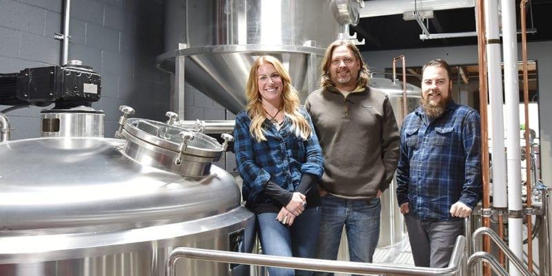 Level Crossing Brewing - Katie Flanagan, Mark Medura, Chris Detrick - Featured