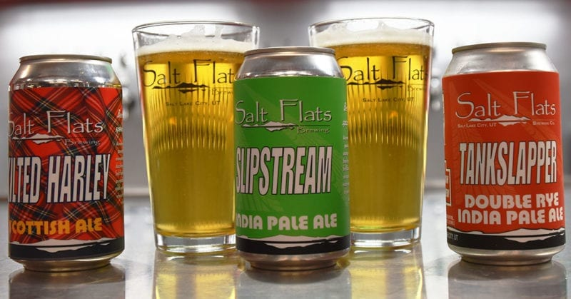 Salt Flats Brewing - Beer Lineup