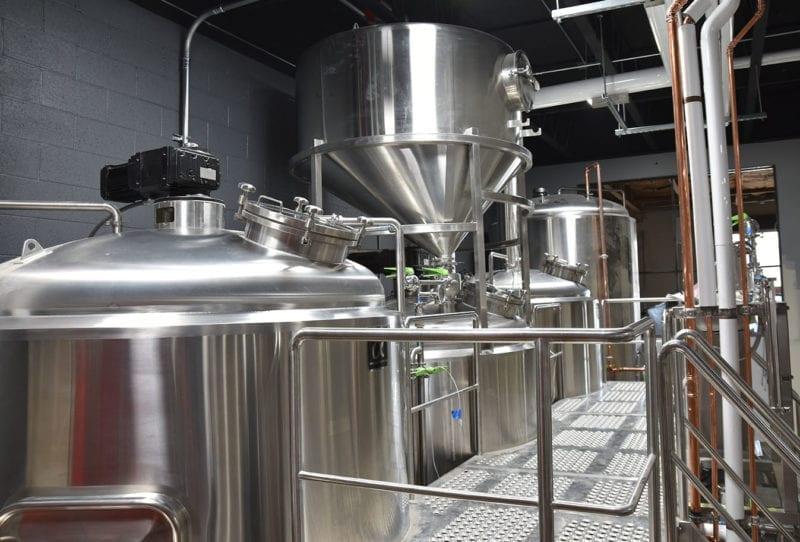 Level Crossing Brewing - Brewhouse