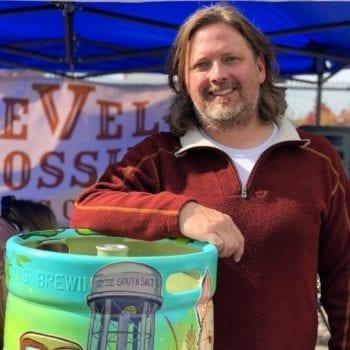 Mark Medura, Level Crossing Brewing Company owner.