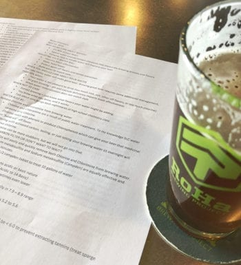 Each Wednesday, RoHa Brewing Project holds Round Table Discussions about craft beer and brewing.