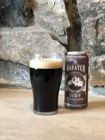Wasatch Kick-Back Series - Utah Beer News Oatmeal Stout