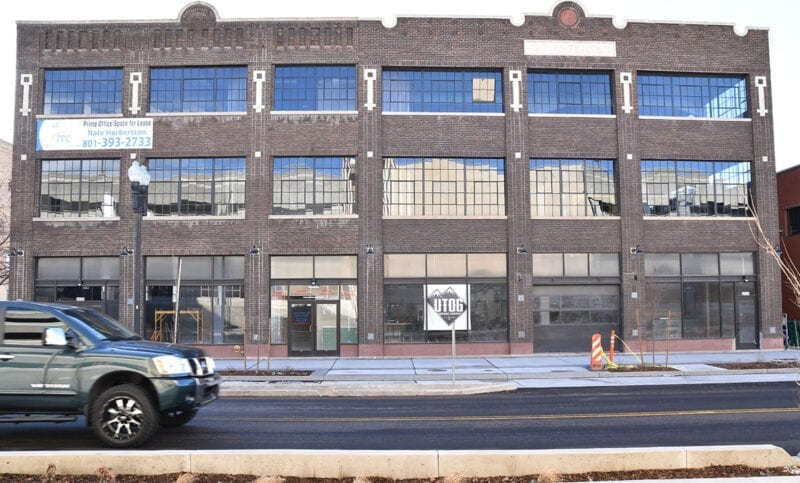 UTOG Brewing Co. is located in the historic Thorstensen Building on Grant Avenue in Ogden, Utah.