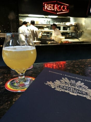 Enjoying a Lime Gose at Red Rock Brewing last year during American Craft Beer Week 2018.