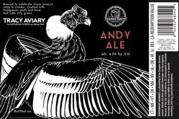 Andy Ale - Toasted Barrel - Label