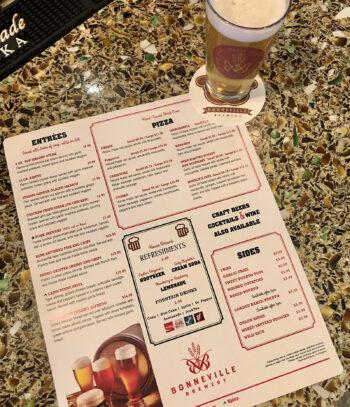 Bonneville Brewery - Menu Cool Fuzz - Utah Beer News