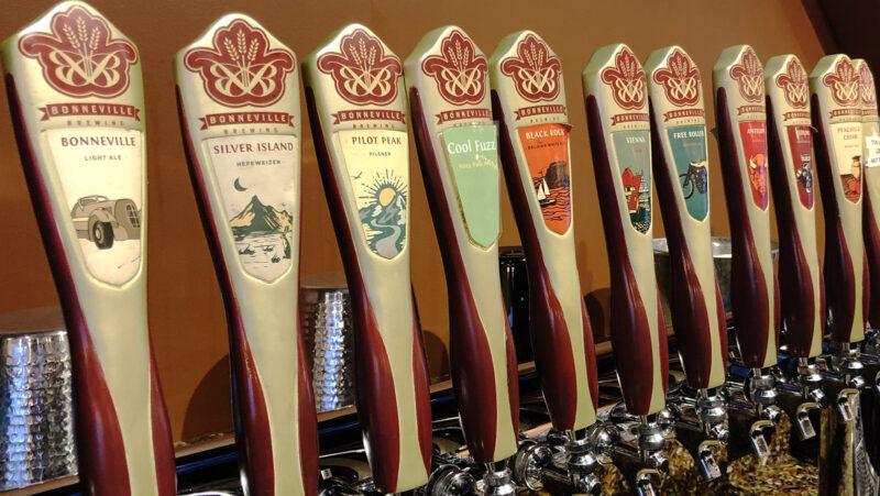 Bonneville Brewery - Tap Handles - Utah Beer News