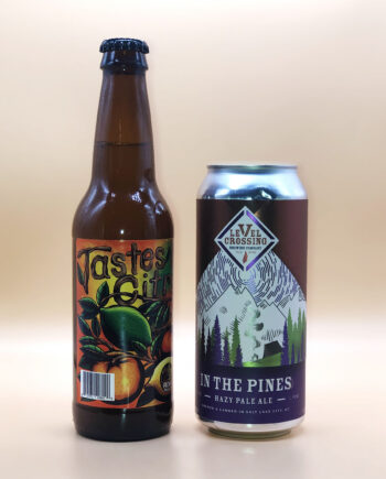 2 Row Tastes Like Citrus - Level Crossing In the Pines - 2020 Utah Beer News March Madness Beer Challenge
