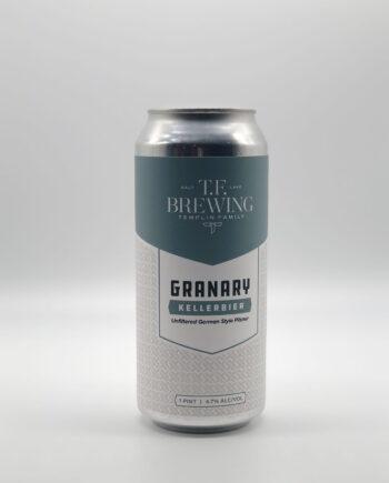 Champion: Templin Family Brewing's Granary Kellerbier. 2020 Utah Beer News March Madness Beer Challenge