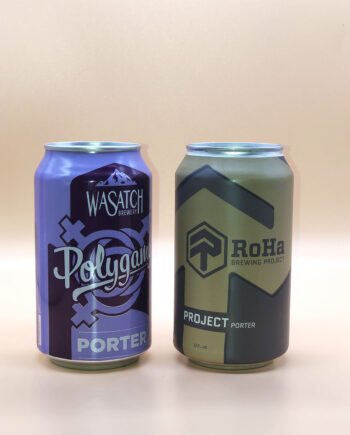 Wasatch Polygamy Porter - RoHa Project Porter - 2020 Utah Beer News March Madness Beer Challenge