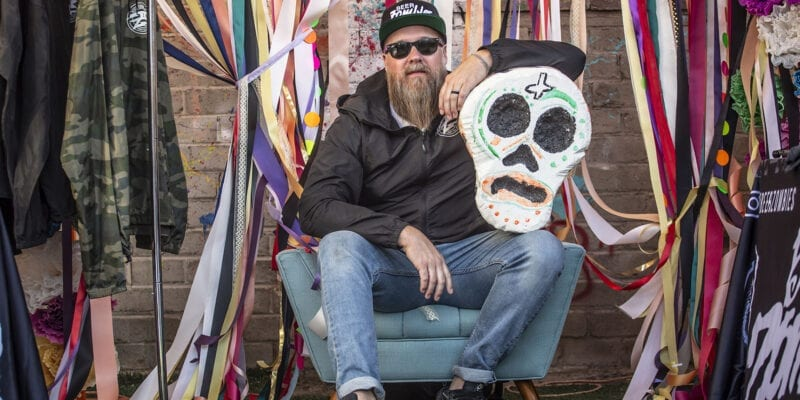 Chris Jacobs, an artist and longtime Las Vegas hospitality worker, opened Beer Zombies in 2013. It's since expanded its footprint, including opening a Salt Lake City location on New Year's Eve 2019. Photo Credit: Chris Jacobs