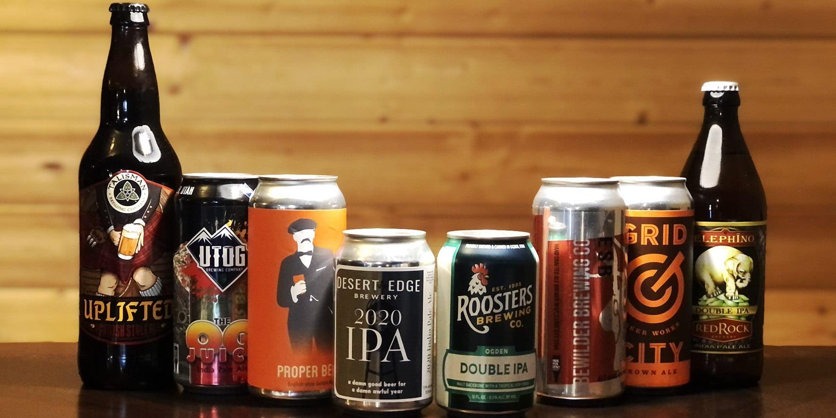 Eight Utah beers battle for supremacy in the 2nd Annual Utah Beer News Beer Bracket Battle.