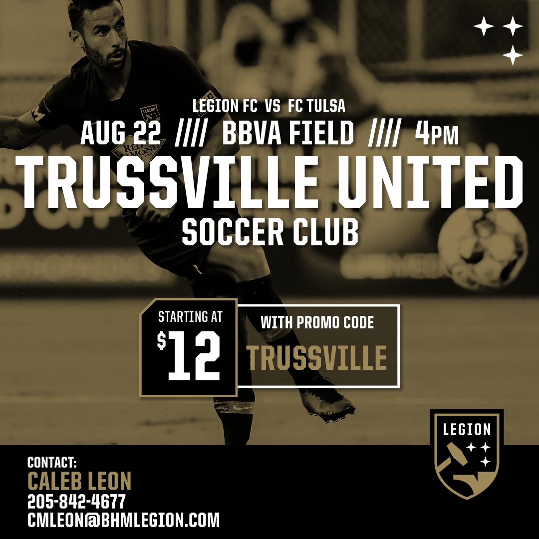 Trussville Promo Code - Legion Game Night