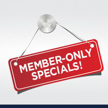 member only specials