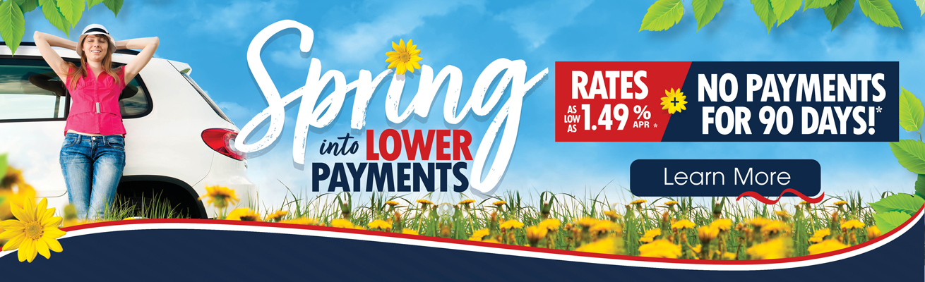 Spring into Lower Payments graphci