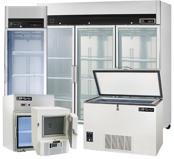 Freezer, fridges and ultra low temp freezers together for rental or lease