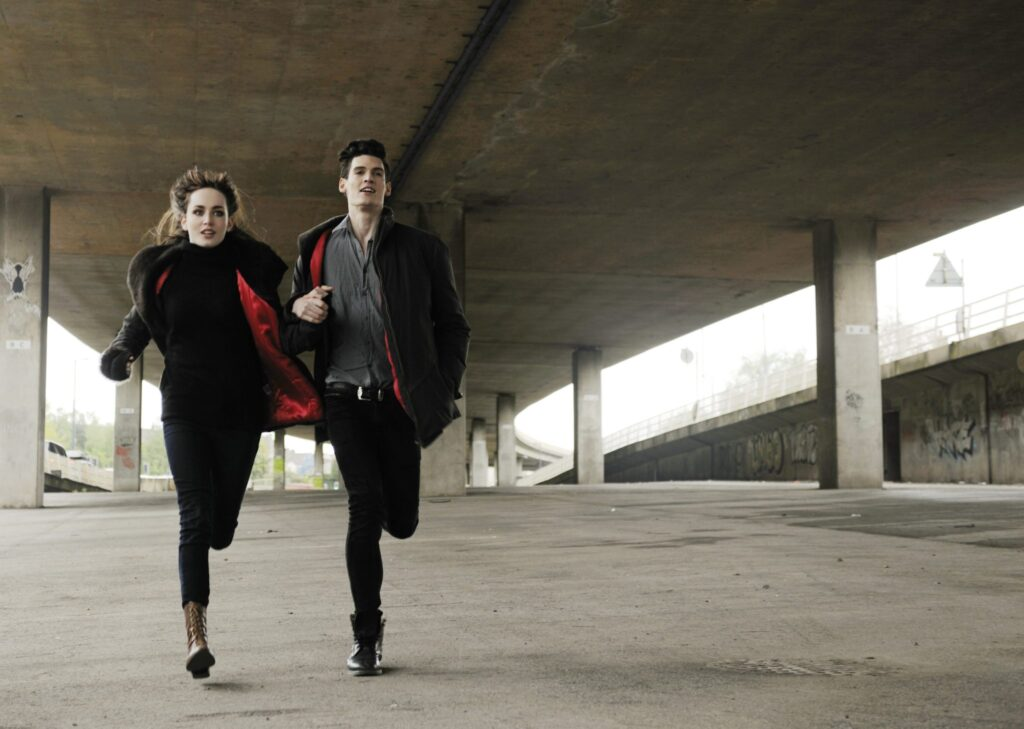 running-together
