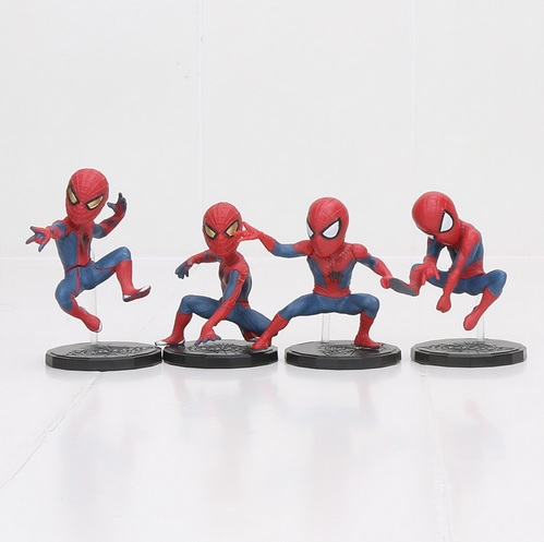 The Amazing Spider Man Mini Action Figures Statues The Lizard Electro 3 inches 2