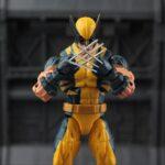 Marvel Legends Wolverine Logan Action Figure Yellow Classic Puck Series X Men 1