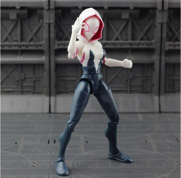 Spider Gwen Action Figure Marvel Collections 7 Inches