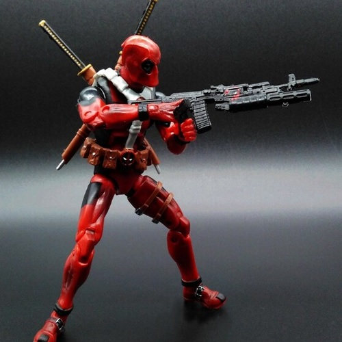 Deadpool Marvel Comics Action Figure 6 inches Classic Collectible Toy