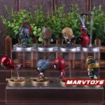 Avengers Infinity War Movie Mini Figures Spider Man Iron Man Loki Thor Hulk Groot Set 2