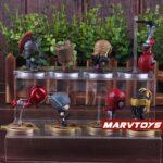 Avengers Infinity War Movie Mini Figures Spider Man Iron Man Loki Thor Hulk Groot Set 5
