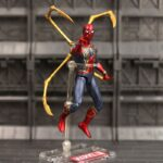 Spider Man Action Figure Iron Spider Suit With Legs 5-ed
