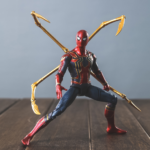 Spider Man Action Figure Iron Spider Suit With Legs (Exoskeleton Armor) Avengers Infinite War Movie 6.5inch 3