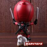 Deadpool with Unicorn Riding Style Collectible Figure 5inch. 5