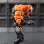 Venom Marvel Comics Action Figure Orange Variant Special Edition Icons 7inch
