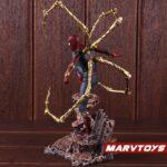 Avengers Iron Spider Man Exoskeleton Armor Statue 8.6Inch 4