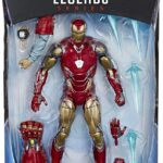 Avengers Endgame Marvel Legends Iron Man Mark LXXXV Action Figure 6-inch (Thor BAF) 2