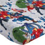 Marvel Avengers Blue Circle Bed Set Full Size 10