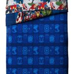 Marvel Avengers Blue Circle Bed Set Full Size 3